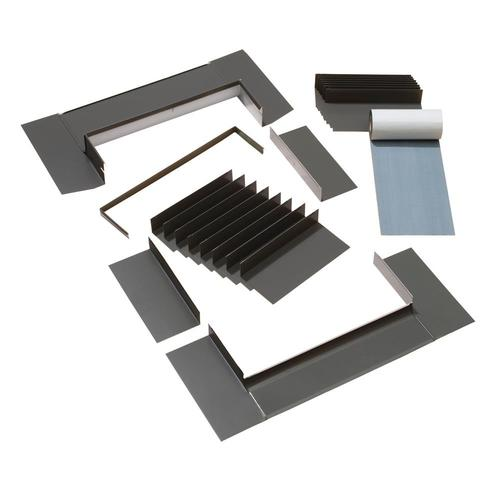 VELUX D06, D26 Shingle Roof Aluminum Deck Mount Skylight Flashing Kit