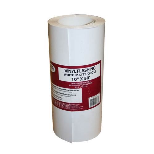 Union Corrugating 10-in x 50-ft Vinyl Roll Flashing