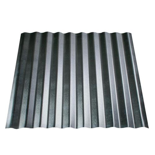 Metal Sales 2.5' Corrugated 2-ft x 8-ft Corrugated Steel Roof Panel