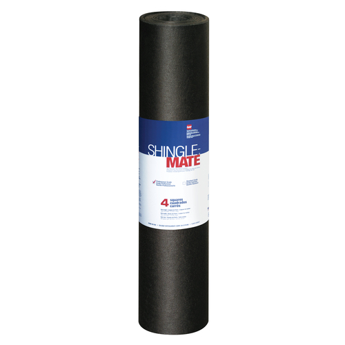 GAF Shingle-Mate 36-in x 144-ft 400-sq ft Felt Roof Underlayment