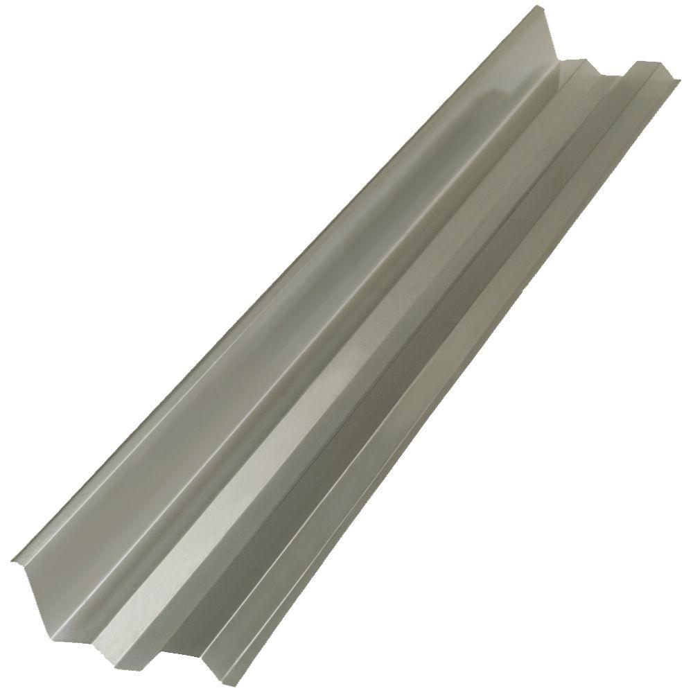 4 ft. Solar Grey Side Polycarbonate Roof Panel Ridge