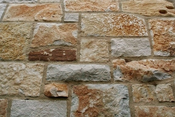 The Quarry Mill Natural Quarried Thin Cut Stone Veneer/Fish Creek Blend / Natural Stone Veneer / Heights: 2- 10Lengths: 6- 18Depths: 3/4- 1-1/4