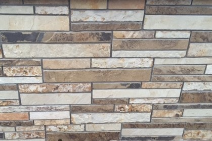 The Quarry Mill Natural Quarried Thin Cut Stone Veneer/Cedar Ridge / Natural Stone Veneer / Heights: 2- 10Lengths: 6- 18Depths: 3/4- 1-1/4