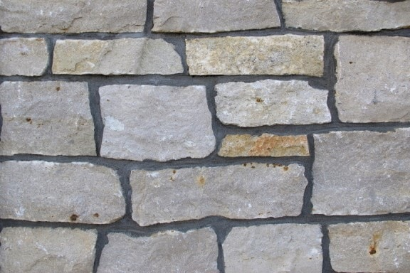 The Quarry Mill Natural Quarried Thin Cut Stone Veneer/Fond du Lac / Natural Stone Veneer / Heights: 2- 10Lengths: 6- 18Depths: 3/4- 1-1/4