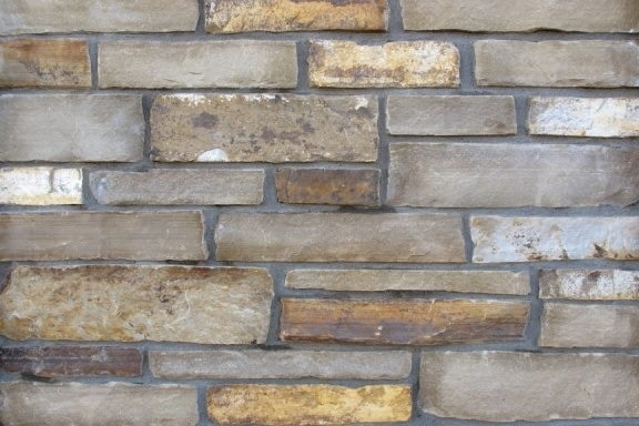 The Quarry Mill Natural Quarried Thin Cut Stone Veneer/Promenade / Natural Stone Veneer / Heights: 2- 10Lengths: 6- 18Depths: 3/4- 1-1/4