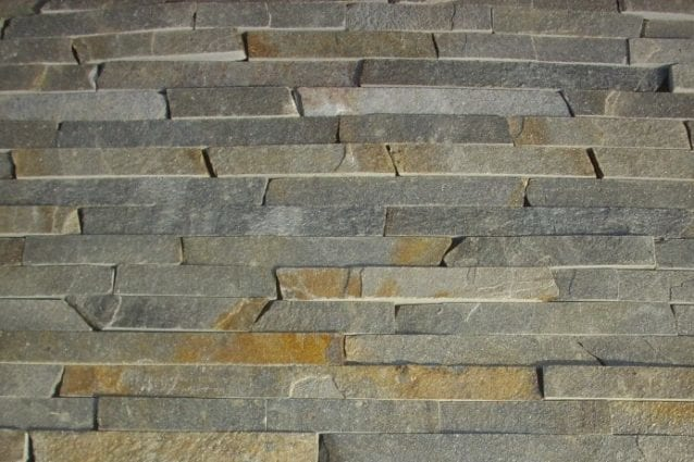 The Quarry Mill Natural Quarried Thin Cut Stone Veneer/Sterling Ledge / Natural Stone Veneer / Heights: 2- 10Lengths: 6- 18Depths: 3/4- 1-1/4